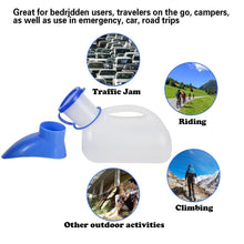 Load image into Gallery viewer, Unisex Potty Urinal, Camping Toliet Urinal for Car, Men and Women for Camping Outdoor Travel - Tido Home