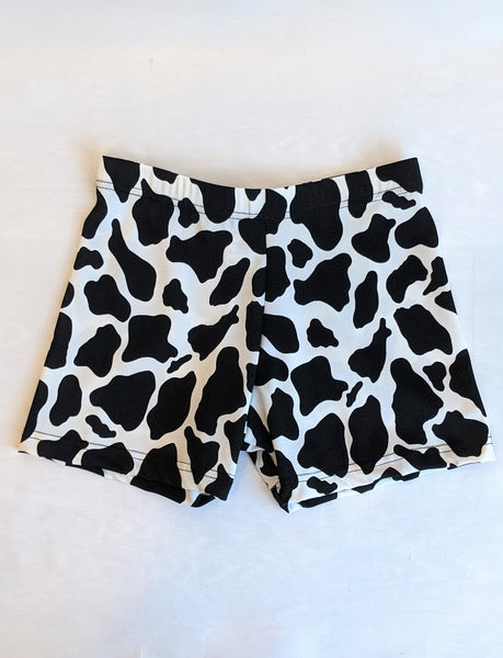 Cow Print Shorts (Adult XS)