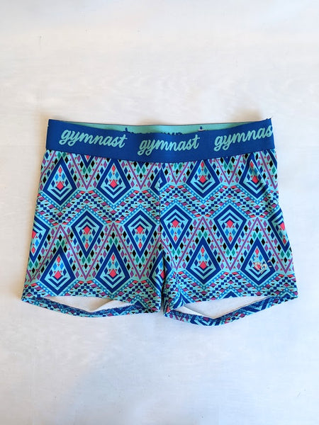 Gymnast Waist Shorts (Child Medium)