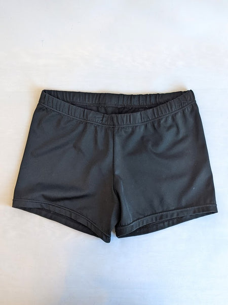 Solid Black Shorts (Child Large)