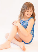 Sparkly Squares Gymnastics Leotard (Multiple Sizes)