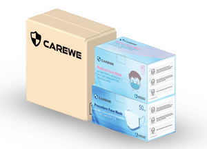4. CAREWE Family Pack- Adult (Box of 50) & Child (Box of 40- Individual Pack)