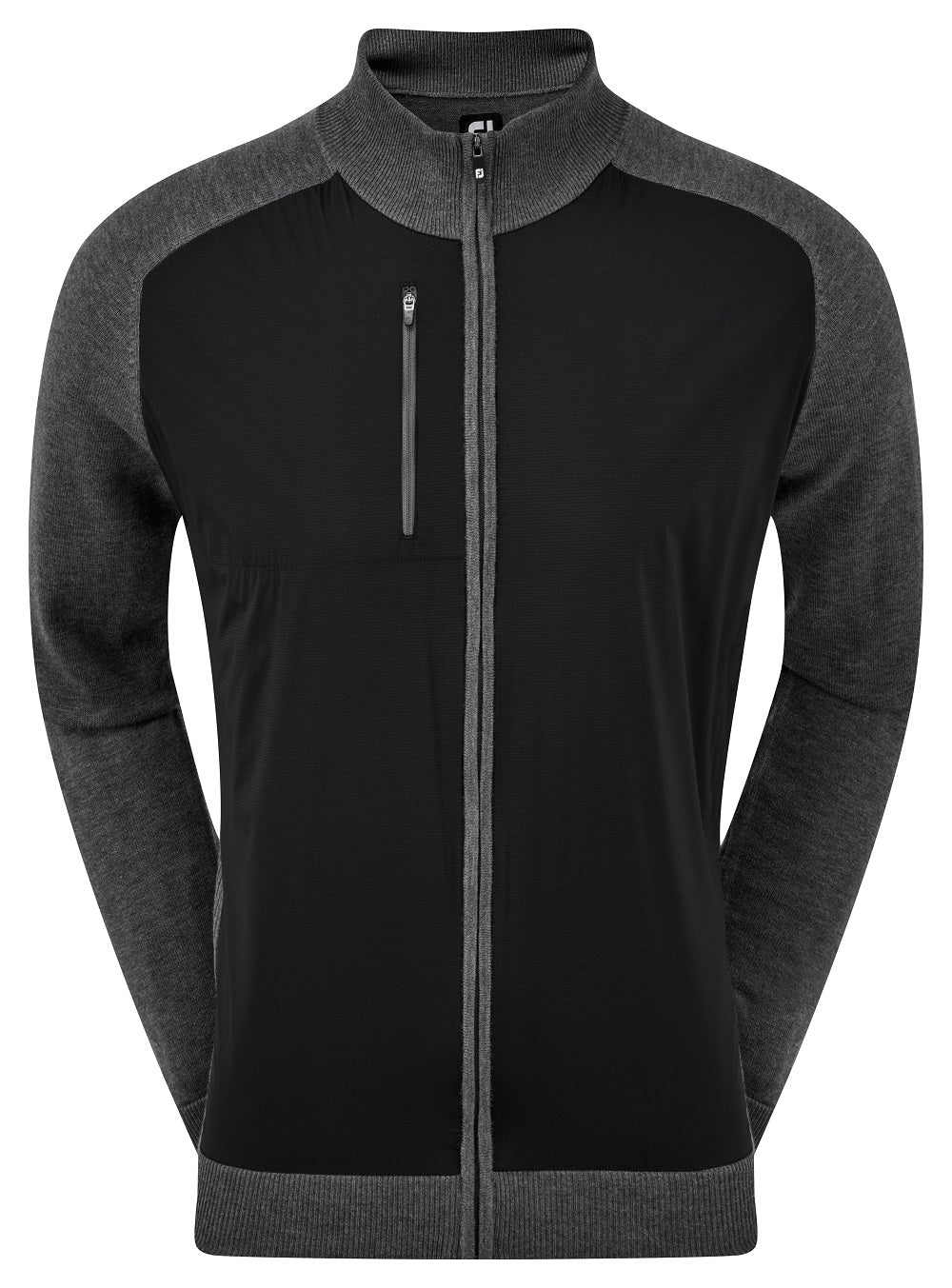 FJ Vindpeysa Herra Wool Blend Tech Full Zip