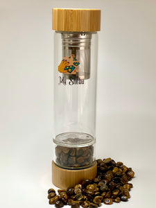 Tiger's Eye Fruit and Tea Infuser