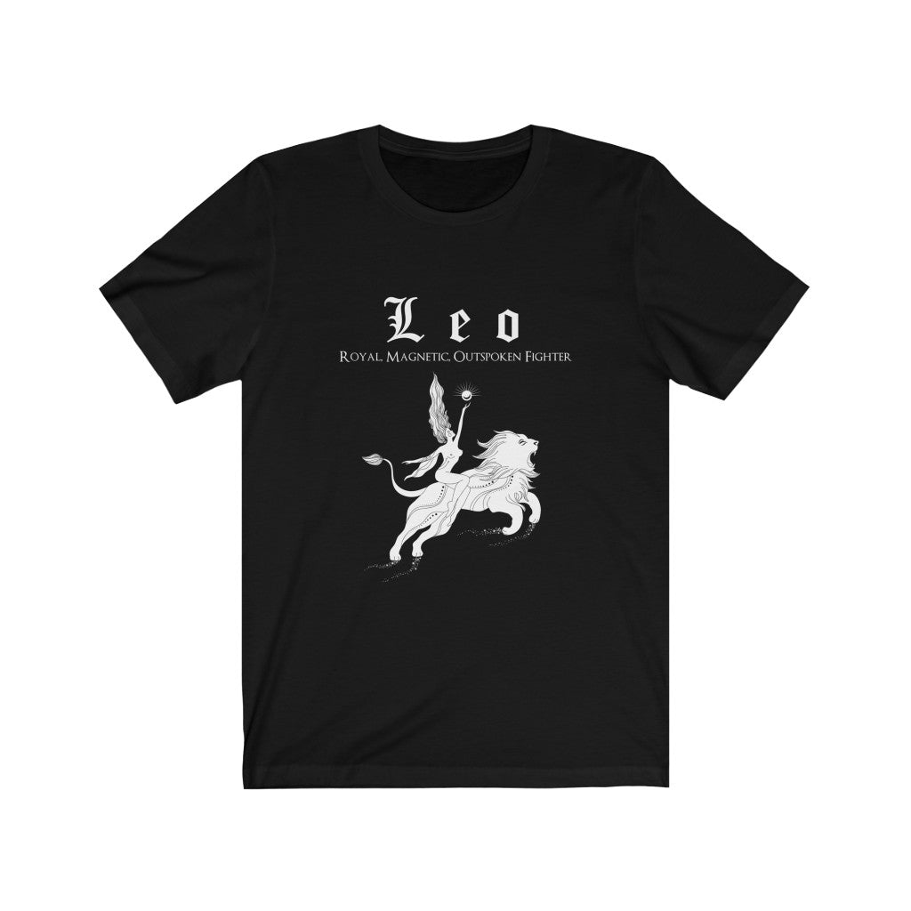 Leo Unisex Short Sleeve Tee - Naima The Sun Goddess