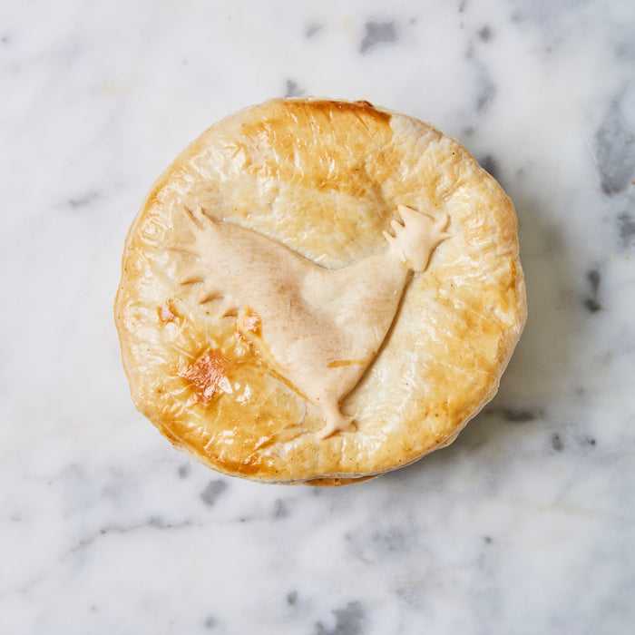 Chicken Leek Small Pie