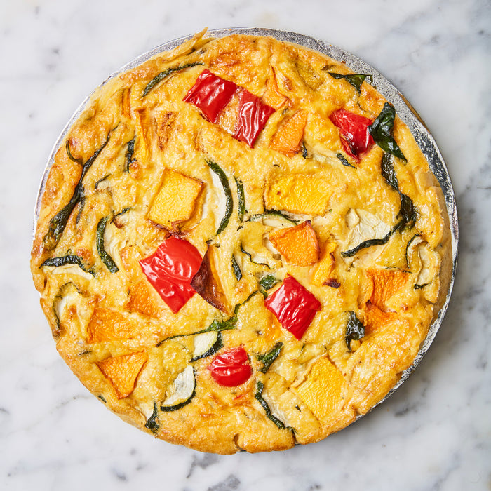 Vegetable Frittata - Flourless