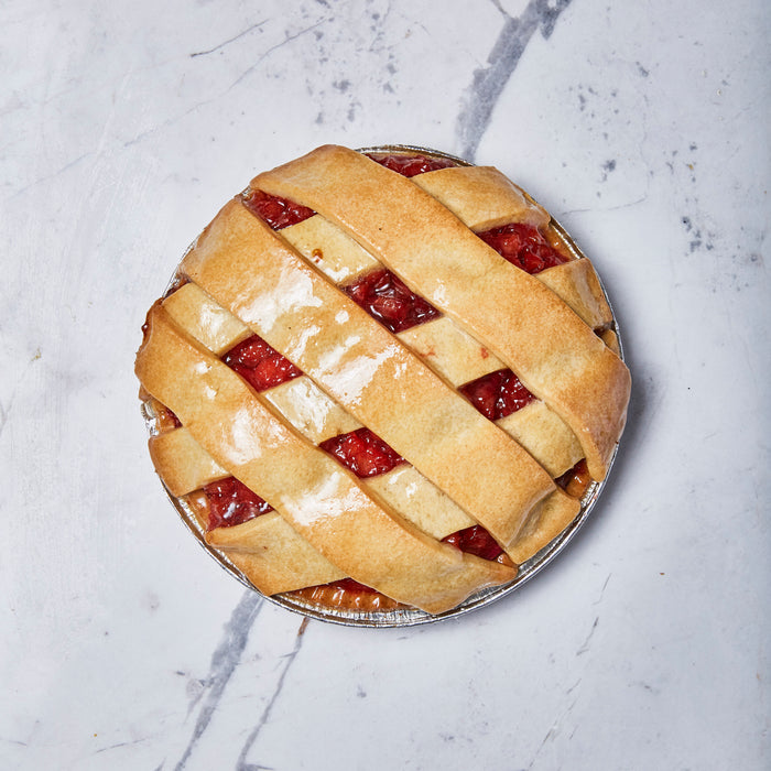 Apple and Rhubarb Fruit Pie