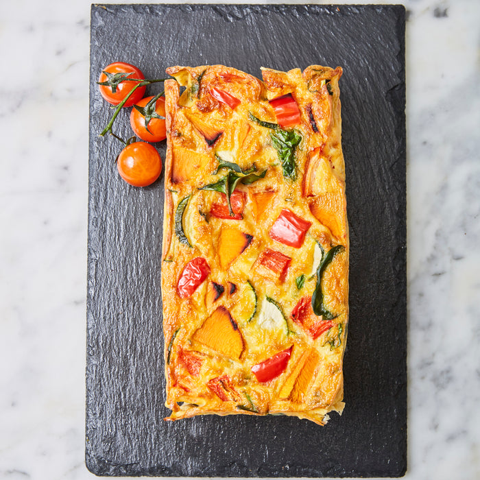 Onion Free with Vegetables Frittata - Flourless