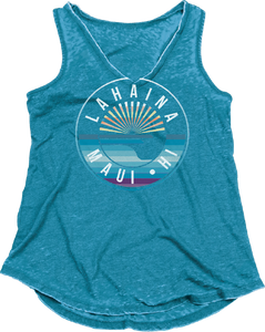 Scenic Lines V-Neck Weathered Tank