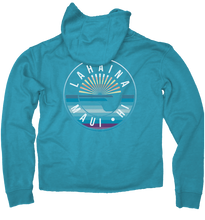 Load image into Gallery viewer, Scenic Lines Weathered Zip Hoody