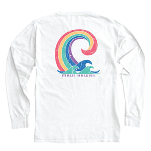 Rejoicing Wave Long Sleeve Tee