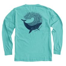 Load image into Gallery viewer, Baleen Humpback Long Sleeve Tee