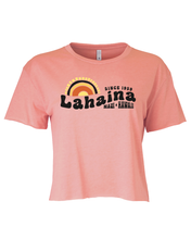 Load image into Gallery viewer, 70's Sunset Crop Tee