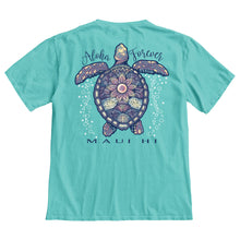 Load image into Gallery viewer, Bubbling Sea Turtle Tee