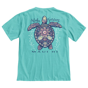 Bubbling Sea Turtle Tee