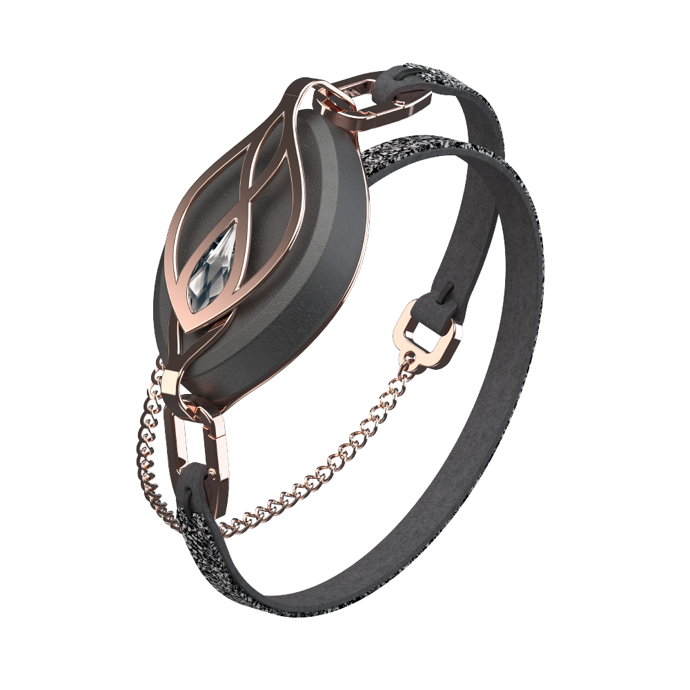 Bellabeat Leaf Crystal Rose Gold Wellness Tracker