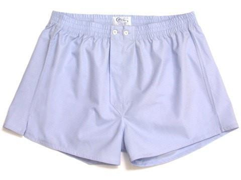 Sky Blue Boxer Shorts-whtshirtmakers.com