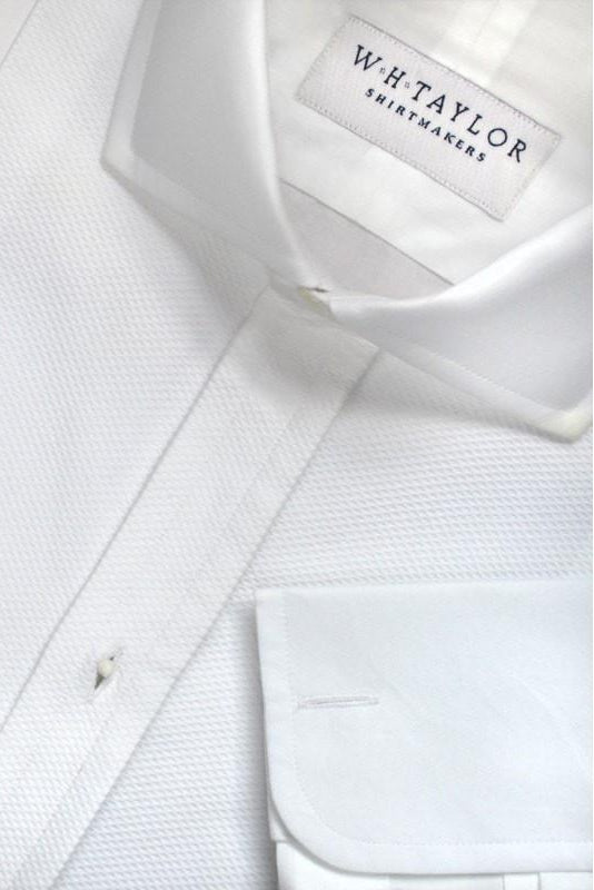 whtshirtmakers.com Cutaway Collar Shirts Bespoke  Marcella Evening Shirt