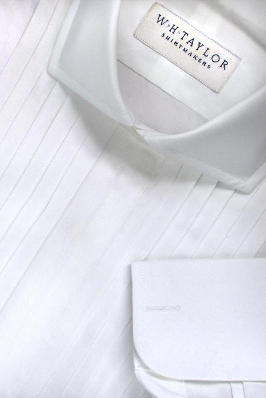 Pleated Evening Bespoke Shirt-whtshirtmakers.com
