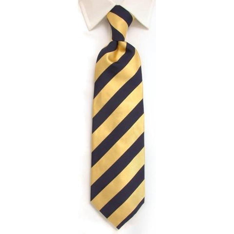 Handmade Gold Plain Silk Tie
