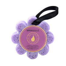 Load image into Gallery viewer, Spongelle French Lavender Wild Flower Bath Sponge