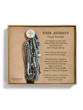 Load image into Gallery viewer, Prayer Bracelet Gray