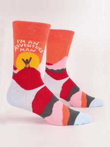 Men's Sock - I'm An Adventure Man