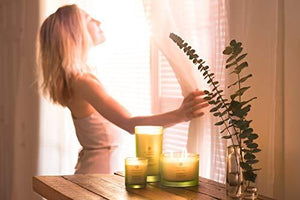 Scented Candle (Lemongrass Eucalyptus) - StayCay Lifestyle