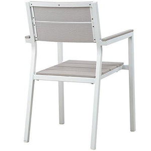 Aluminum Outdoor Patio Arm Chairs - StayCay Lifestyle