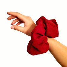 Load image into Gallery viewer, NEW Red Lace Scrunchie