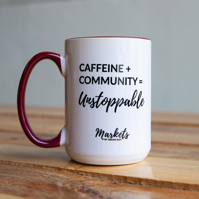 Caffeine + Community = Unstoppable