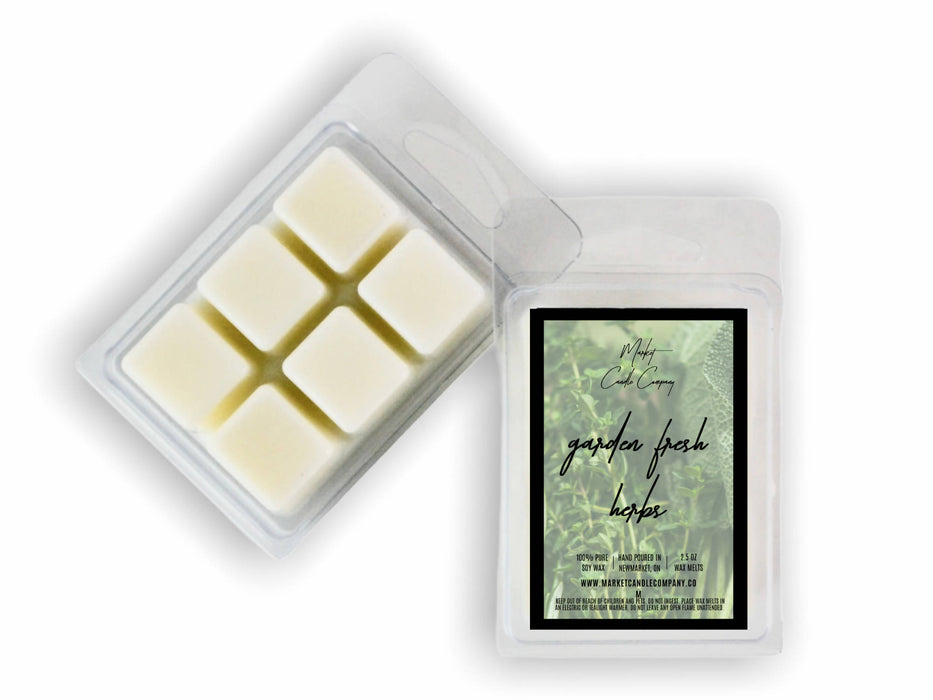 GARDEN FRESH HERBS SOY WAX MELT