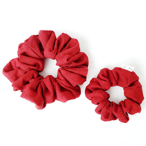 NEW Red Lace Scrunchie