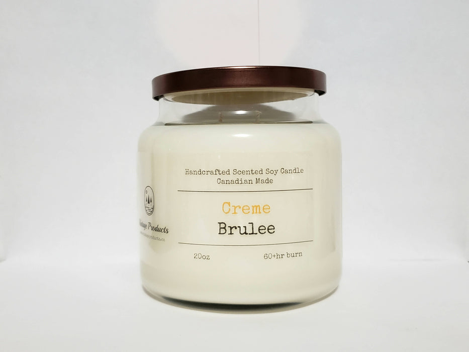 Creme Brulee - Scented Soy Candle