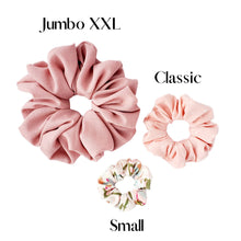 Load image into Gallery viewer, Jumbo XXL Scrunchie- Black Crepe