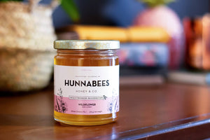 375g Natural, Raw, Unpasteurized Honey