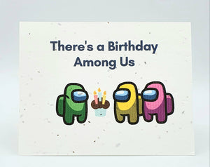 Birthday Seed Paper Greeting Card