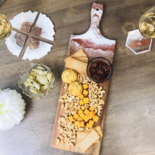 "Load image into Gallery viewer, Sparkle Charcuterie Board 24"" X  7.5"""