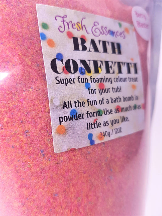Bath Confetti - Bath Bomb Powder
