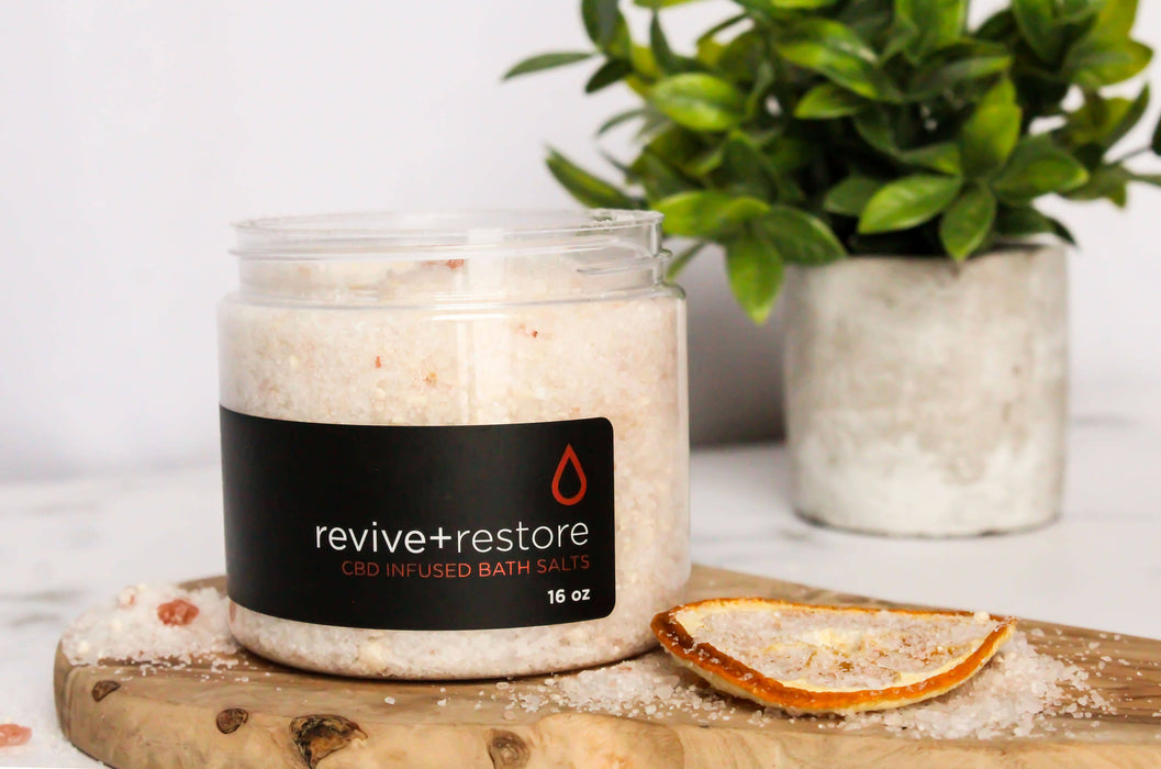 Revive N Restore Hemp Infused Bath Salt 16oz
