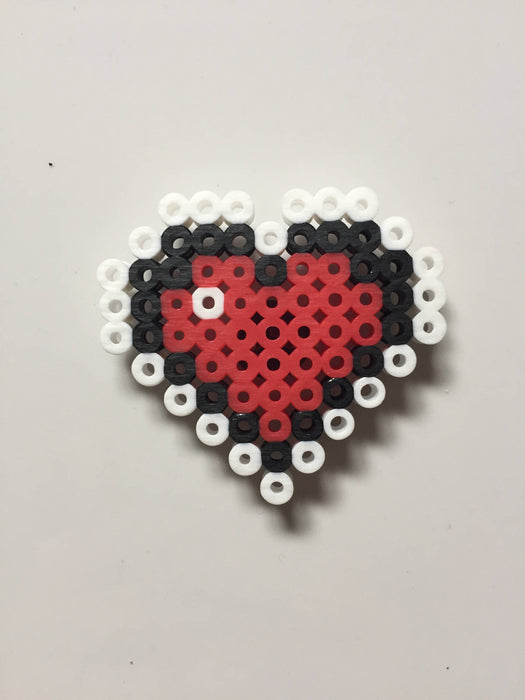 16-Bit Single Heart Container Magnet