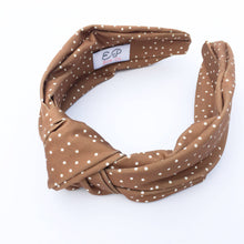 Load image into Gallery viewer, Everyday Easy Hairband - Cognac Dot