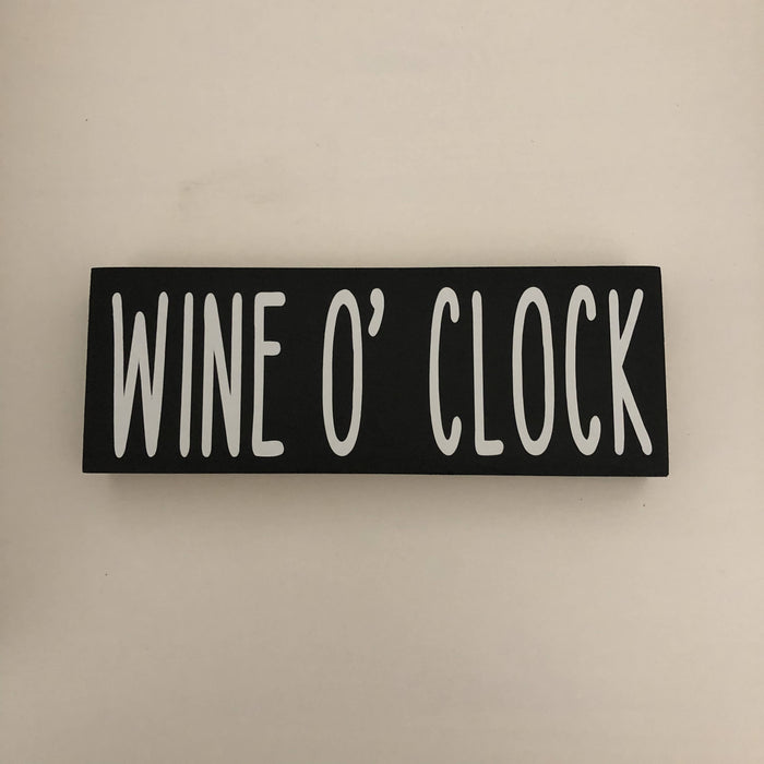 Wine Word Block