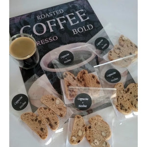 SIMPLY AMAZING BISCOOTI BARISTA PACKETS