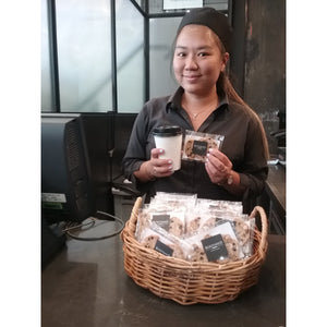 BARISTA PACKS WITH COMPANY NAME BOATSHED MARKETS