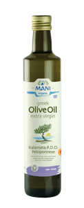 Organic Kalamata PDO Extra Virgin Olive Oil 500ml