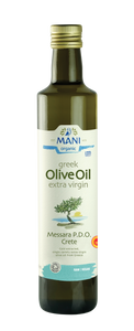 Organic Messara PDO Extra Virgin Olive Oil 500ml