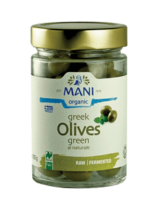 Organic Green Olives al Naturale