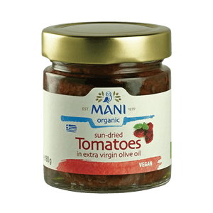 Organic Sun-dried Tomatoes in Olive Oil